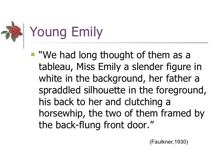 symbolism in the chrysanthemums and a rose for emily essay