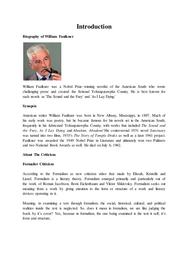 a rose for emily summary essay A rose for emily and other short stories of william faulkner study guide  contains a biography of william faulkner, literature essays, quiz.