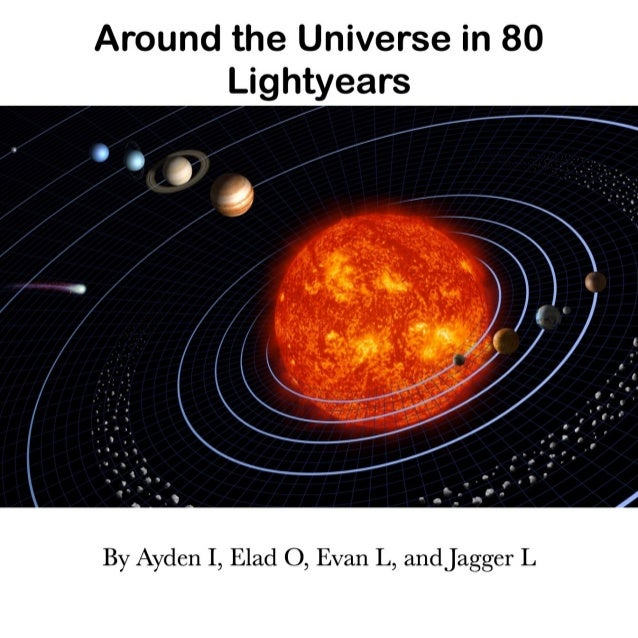 Around the Universe in 80 Lightyears