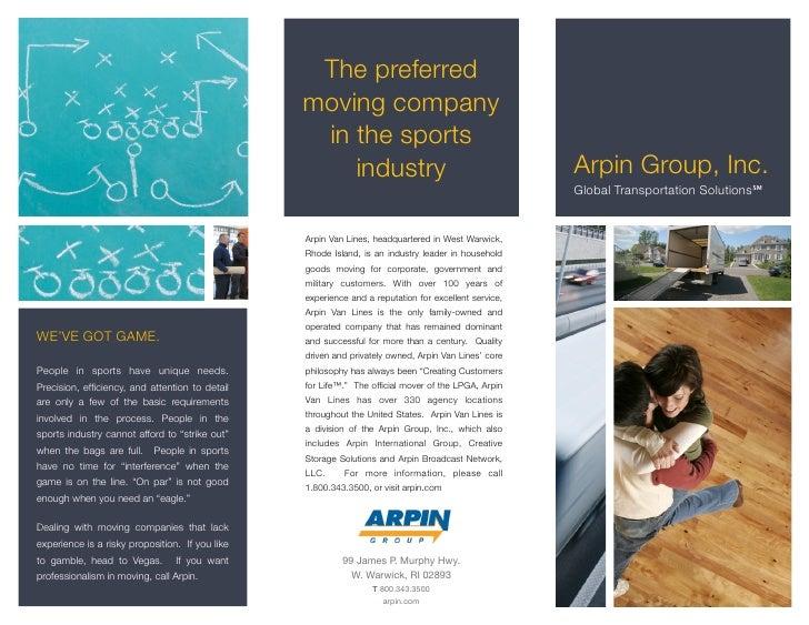 The preferred                                                  moving company                                             ...