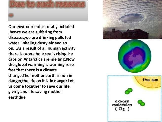 essay about save our mother earth