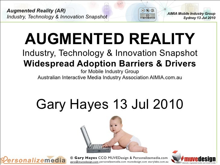 Augmented Reality Barriers & Drivers for Widespread Adoption