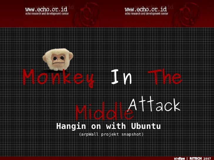 Monkey In The                         Attack      Middle   Hangin on with Ubuntu       (arpWall projekt snapshot)         ...