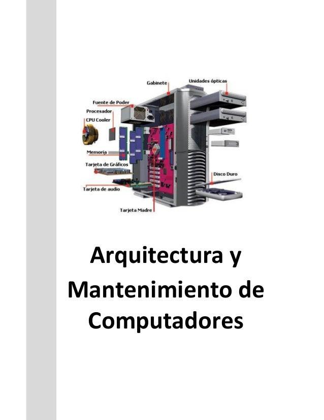 Arquitectura y Mantenimiento de Computadores
