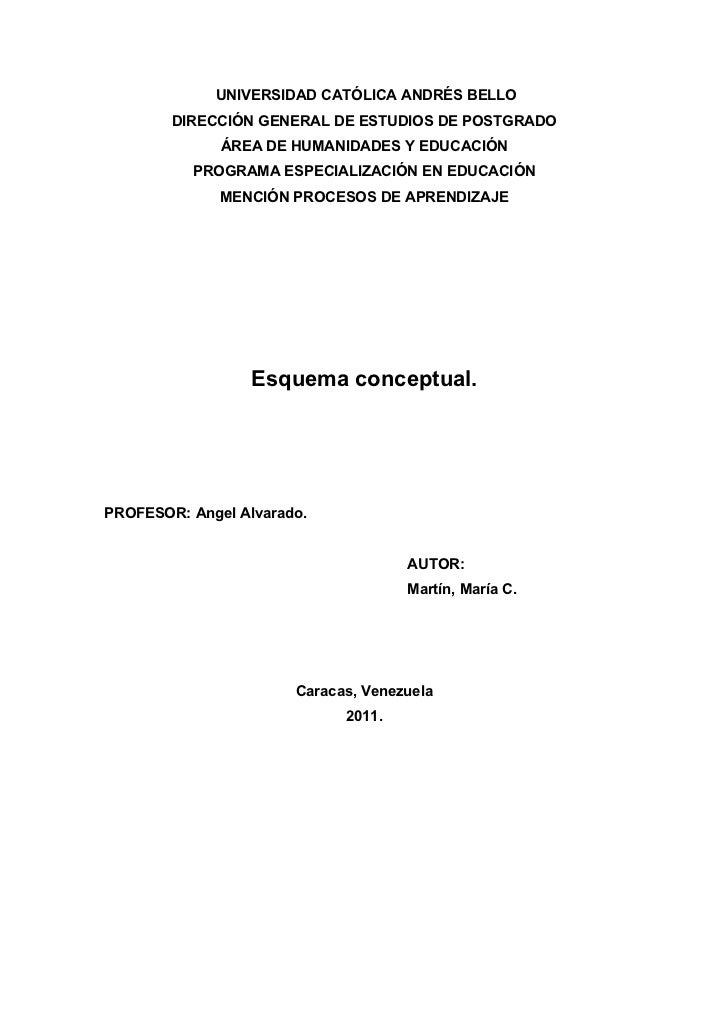 UNIVERSIDAD CATÓLICA ANDRÉS BELLO        DIRECCIÓN GENERAL DE ESTUDIOS DE POSTGRADO              ÁREA DE HUMANIDADES Y EDU...