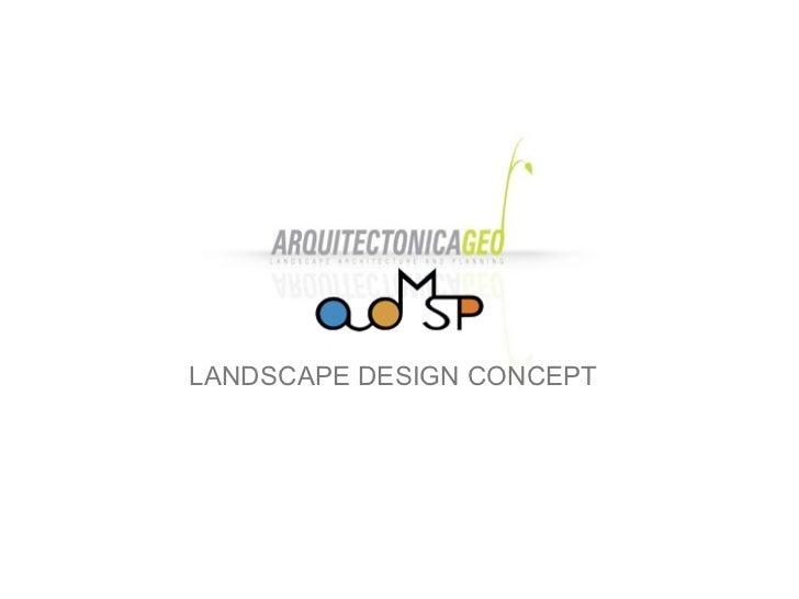 Arquitectonica-ADMSP Landscape Design Concept