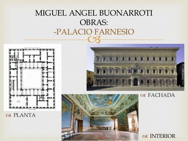 Arquitectos del renacimiento quattrocento cinquecento - Arquitectura miguel angel ...