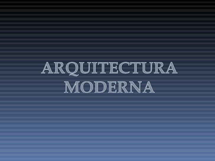 Comenzando el siglo XXI es fácil olvidar que la arquitectura moderna nació después de la primera guerra mundial. Estaba or...