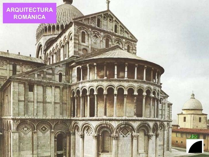 Arquitectura romanica for Conceptualizacion de la arquitectura