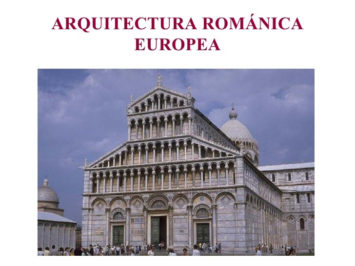 Arquitectura Románica Europea