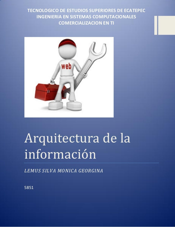 Arquitectura de la informacion