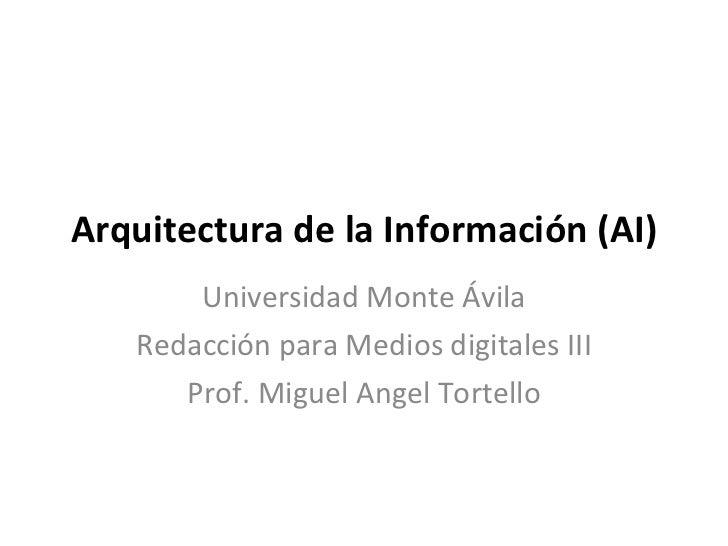 Arquitectura de la informacion3