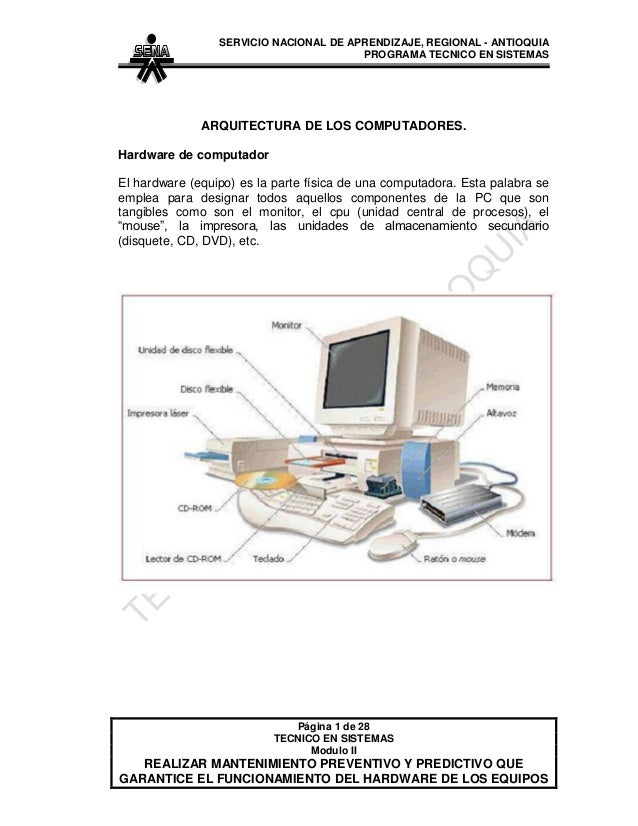 SERVICIO NACIONAL DE APRENDIZAJE, REGIONAL - ANTIOQUIA                                        PROGRAMA TECNICO EN SISTEMAS...