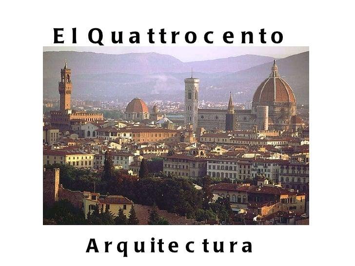 arquitectura del quattrocento On arquitectura quattrocento