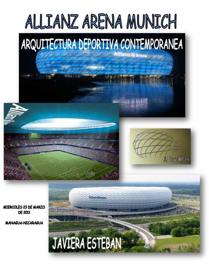 Arquitectura deportiva contemporanea javiera esteban