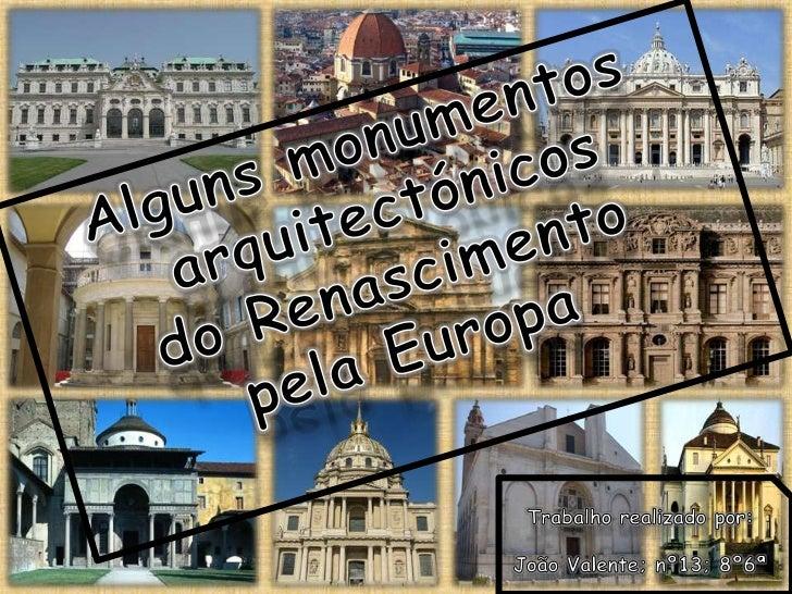 Arquitectura do renascimento