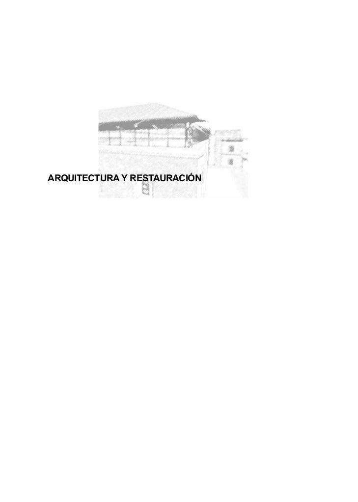 Arquitectura en los molinos