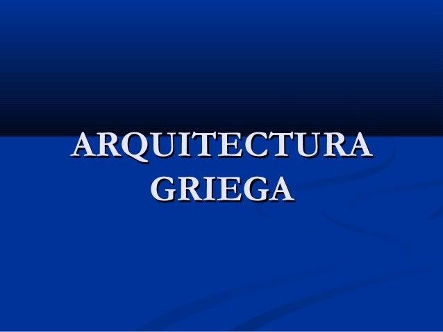 Arquitectura griega.ppt  JARO