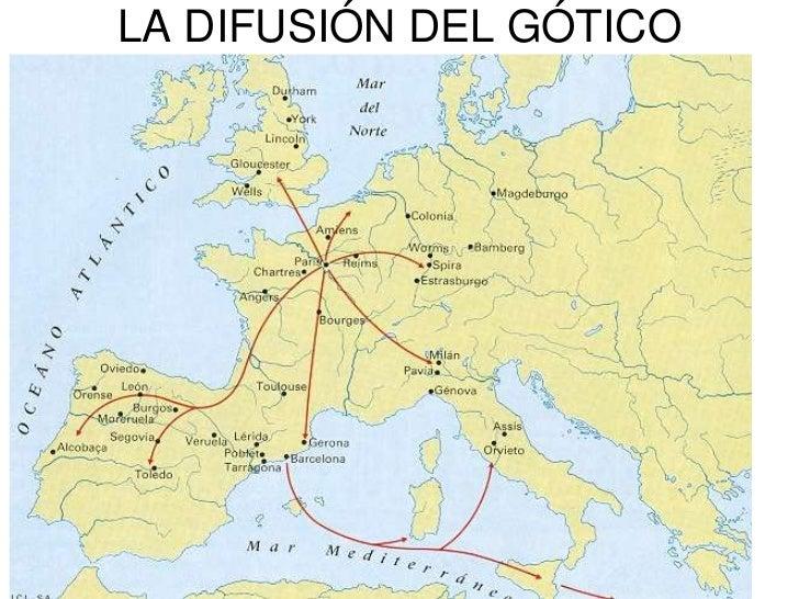 LA DIFUSIÓN DEL GÓTICO