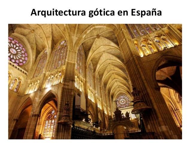 arquitectura g tica en espa a