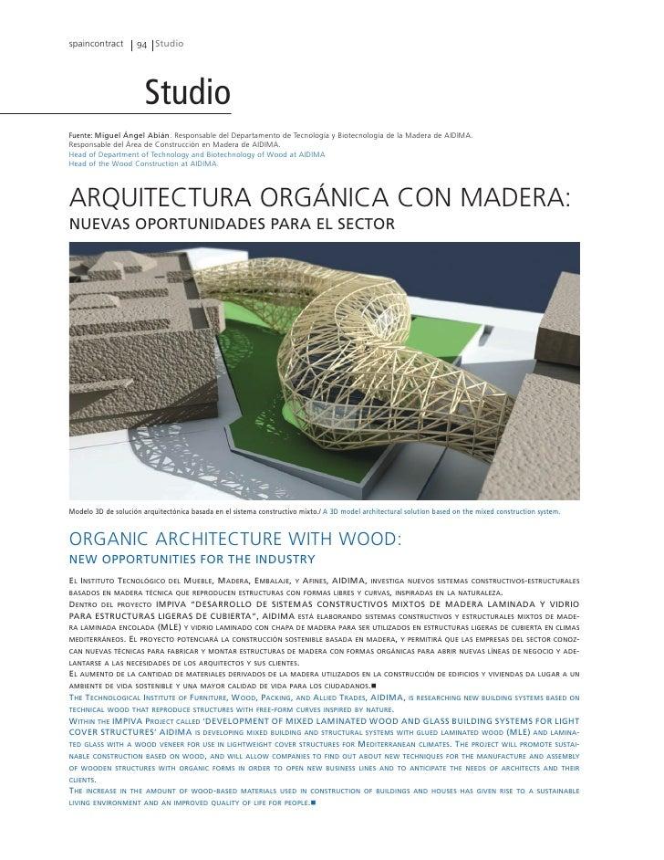 spaincontract       94 Studio                       StudioFuente: Miguel Ángel Abián. Responsable del Departamento de Tecn...