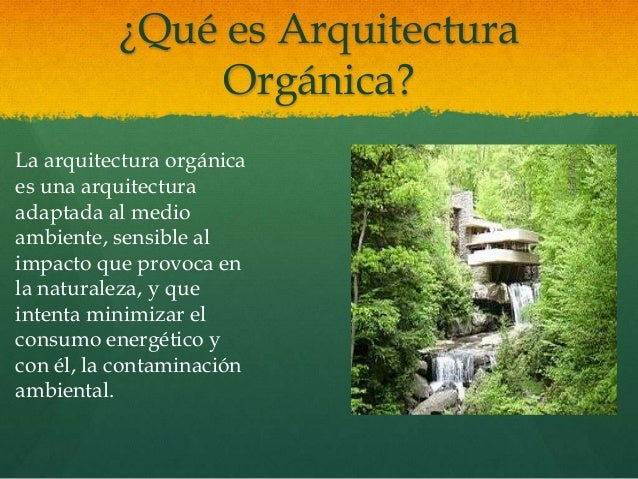 Arquitectura org nica presentaci n for En que consiste la arquitectura