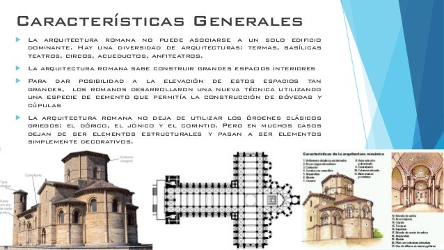 Arquitectura romanica for Caracteristicas de la arquitectura