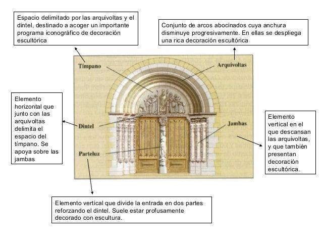 Arquitectura rom nica - Vano arquitectura ...