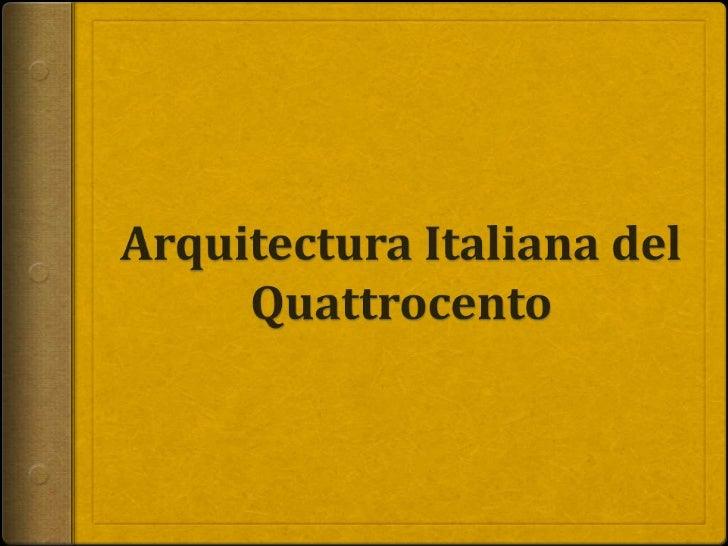 Arquitectura siglo xv
