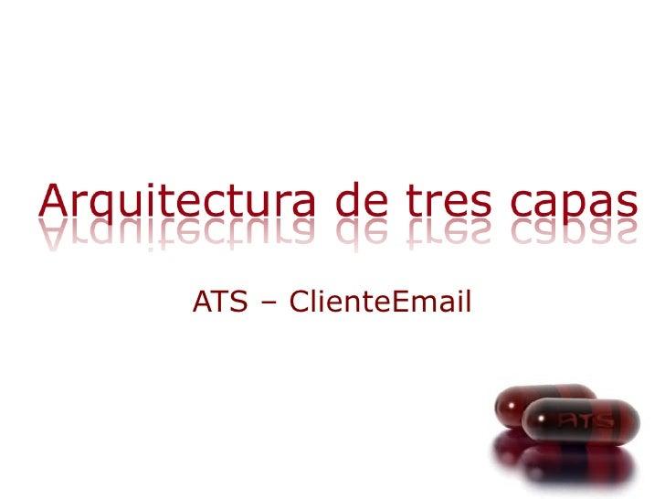 ATS – ClienteEmail
