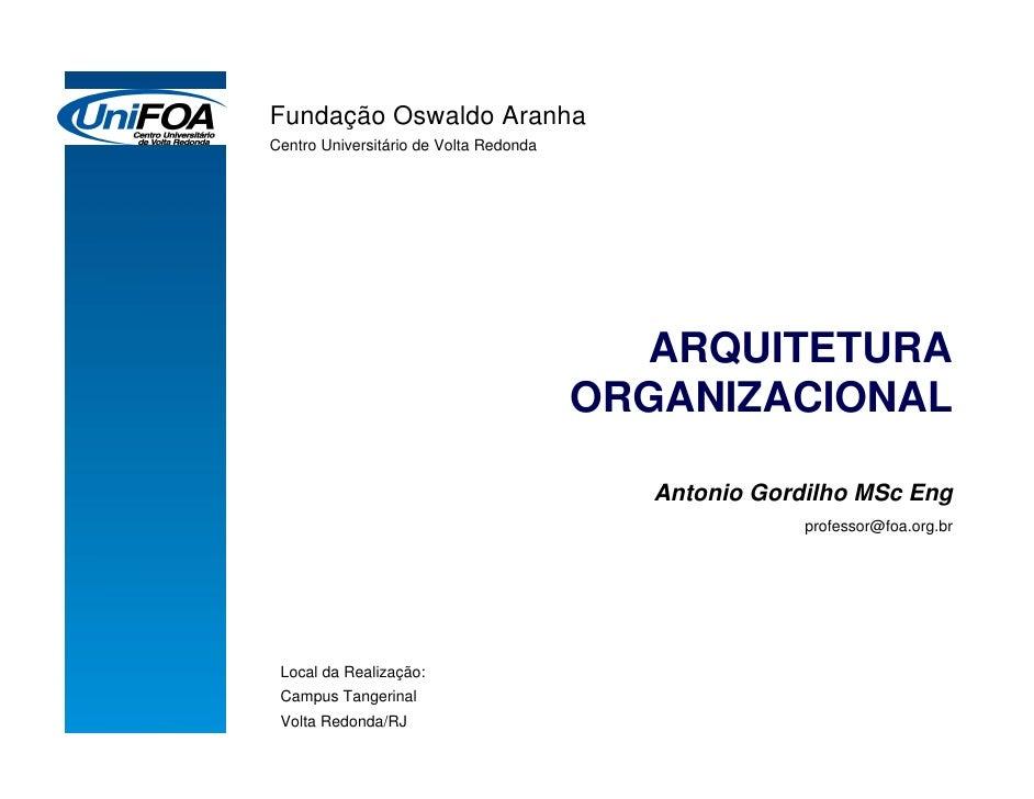 GP - Arquitetura Organizacional