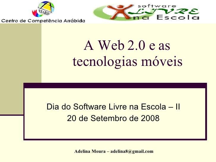 Web 2.0 e tecnologias móveis