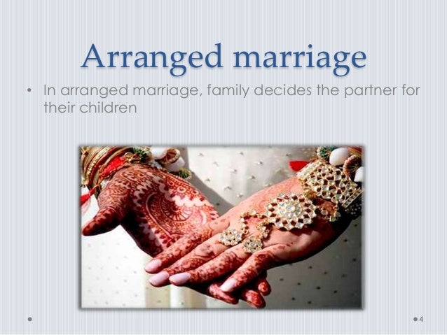 essay for arranged marriage