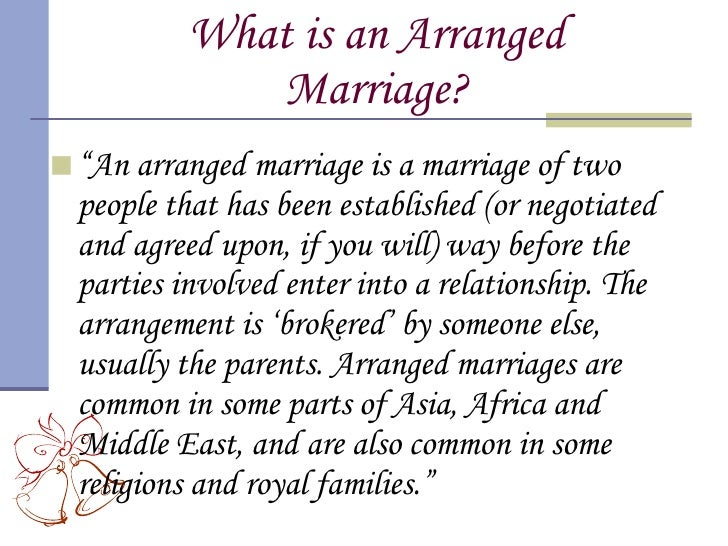 Arranged marriages love marriages essay