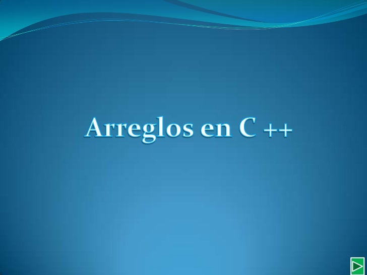 Arreglosen C ++<br />