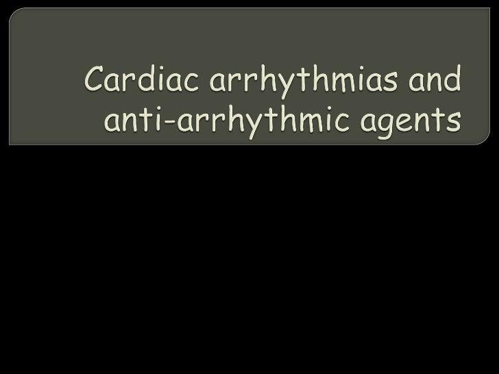 Arrhythmias final