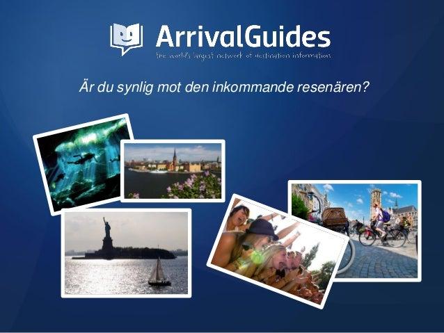 ArrivalGuides Swedish Media Pack