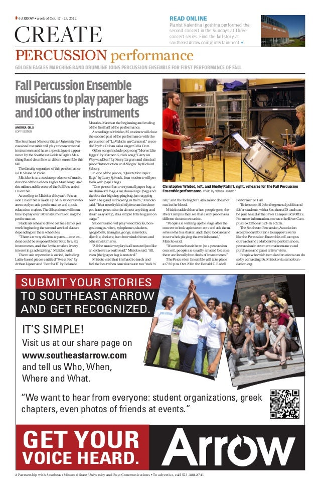 Fall Percussion Ensemble story