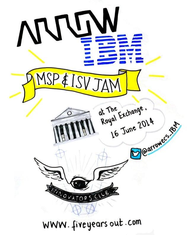 Arrow and IBM, MSP & ISV Jam