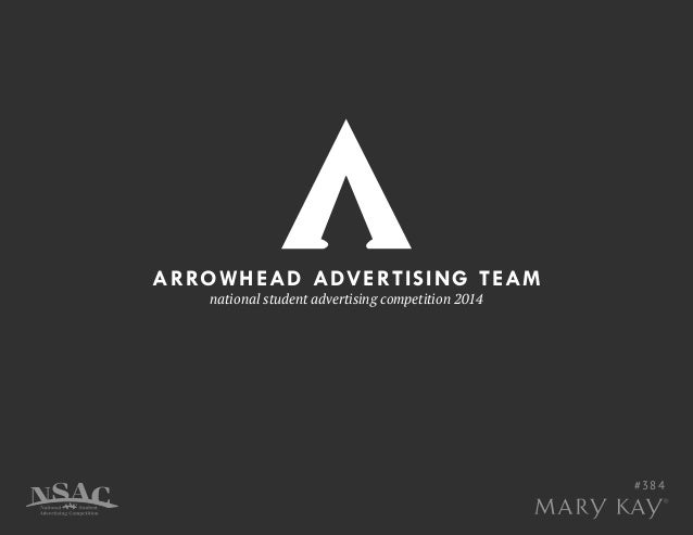 ARROWHEAD ADVERTISING TEAM national student advertising competition 2014 #384