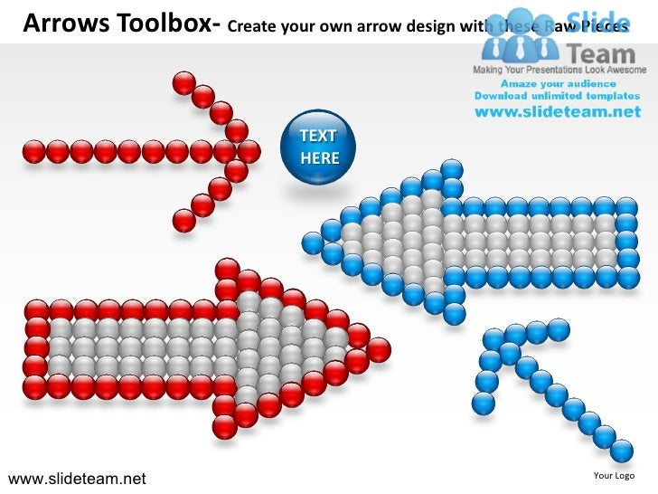 Arrows Toolbox- Create your own arrow design with these Raw Pieces                               TEXT                     ...