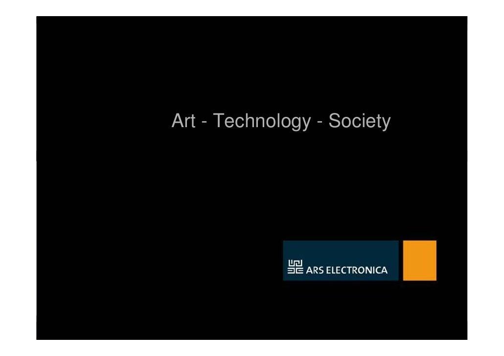 Ars Electronica Presentation - Sept. 09