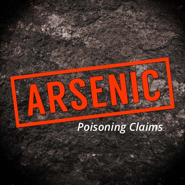 Poisoning Claims