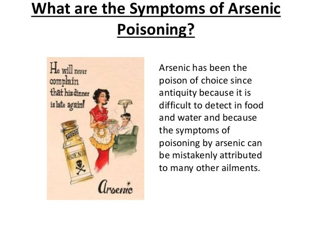 arsenic poisoning symptoms #10