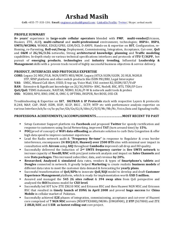 Network Technician Resume Examples Noc resume example noc – Noc Template