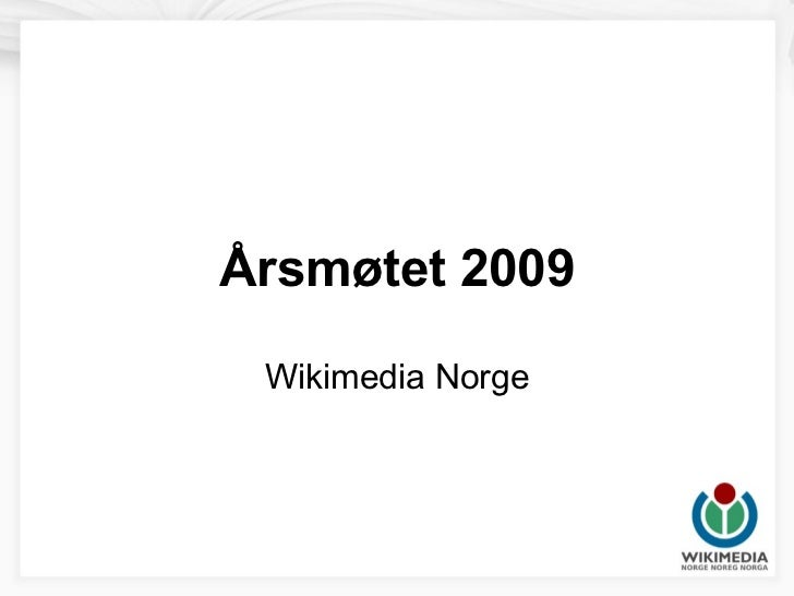 Arsmotet 2009