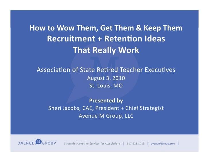 ARSTE august 2010 presentation