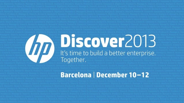 Cloud Interoperatibility and Hybrid Clouds: promise or reality? - HP Discover 2013