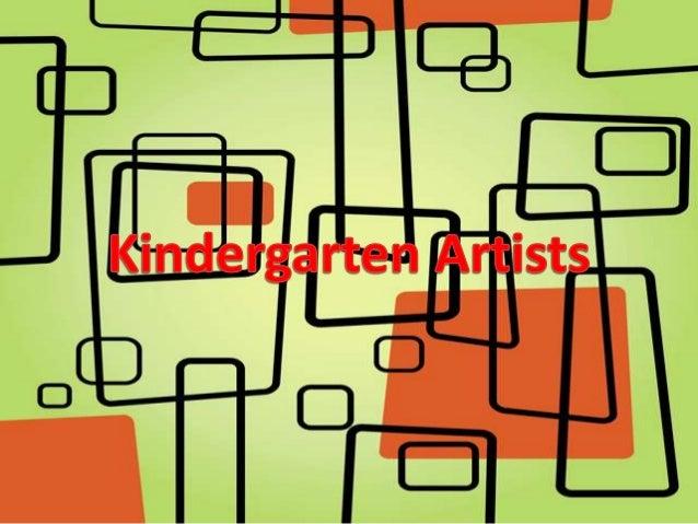Kindergarten Artistry