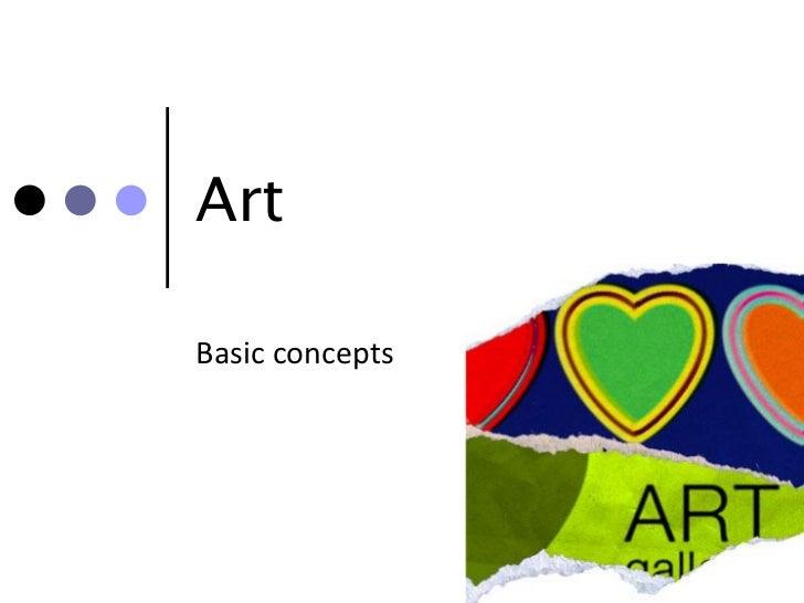 Unit 1.1 Art basics